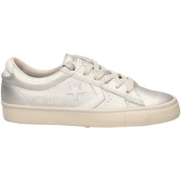 Chaussures Femme Baskets basses All Star PRO LEATHER VULC OX silwh-argento-bianco