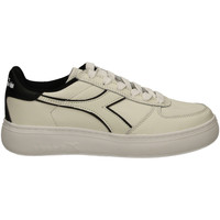 Chaussures Femme Baskets basses Diadora B.ELITE L WIDE WN biane-nero-bianco
