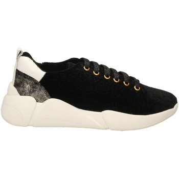 Chaussures Femme Baskets basses Colors of California SNEAKER WITH LACES black-nero