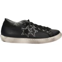 Chaussures Femme Baskets basses 2 Stars LOW blune-nero-blu