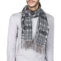 Accessoires textile Homme Echarpes / Etoles / Foulards Dandytouch Echarpe Bubble Gris