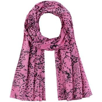 Accessoires textile Femme Echarpes / Etoles / Foulards Allée Du Foulard Chèche Galeo Rose