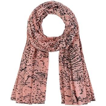 Accessoires textile Femme Echarpes / Etoles / Foulards Allée Du Foulard Chèche Galeo Saumon