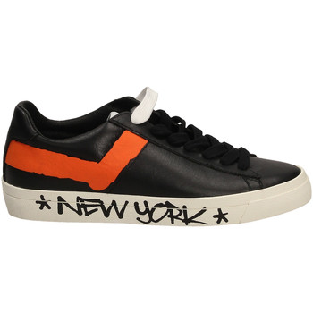 Chaussures Homme Baskets basses Pony TOP STAR OX whibl-bianco-nero