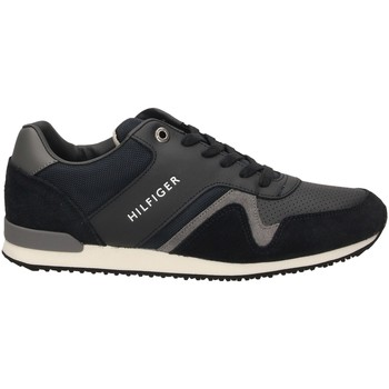 Chaussures Homme Baskets basses Tommy Hilfiger ICONIC LEATHER midni-blu-scuro