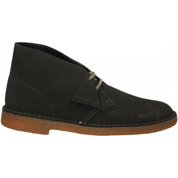 Chaussures Homme Boots Clarks DESERT BOOT dkgre-grigio-scuro