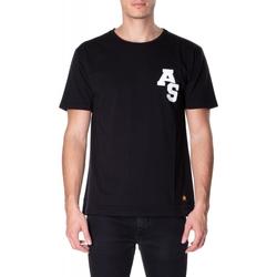 Vêtements Homme T-shirts manches courtes Atlantic Star Apparel T-SHIRT col-5-nero