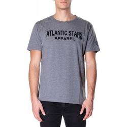 Vêtements Homme T-shirts manches courtes Atlantic Star Apparel T-SHIRT col-2-grigio-chiaro