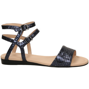 Chaussures Femme Sandales et Nu-pieds What For BENOU dblue-blu-scuro