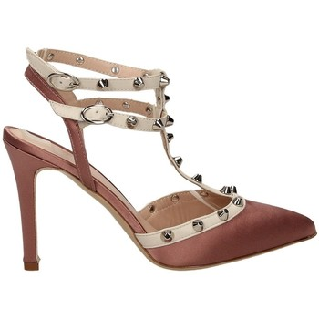 Chaussures Femme Sandales et Nu-pieds Mivida RASO E NAPPA milk-rosa-bianco