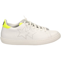 Chaussures Femme Baskets basses 2 Stars LOW BASICO biagf-bianco-giallo