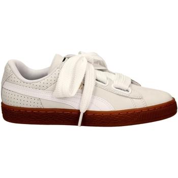 Chaussures Femme Baskets basses Puma BASKET HEART PERF GU whigo-bianco-oro