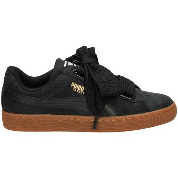 Chaussures Femme Baskets basses Puma BASKET HEART PERF GU blago-nero-oro