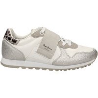 Chaussures Femme Baskets basses Pepe jeans VERONA W ELASTIC white-bianco