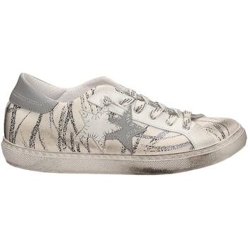 Chaussures Femme Baskets basses 2 Stars LOW FANTASI REFLEX biane-bianco-nero
