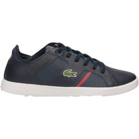 Chaussures Homme Baskets basses Lacoste NOVAS CT 144-blu-rosso