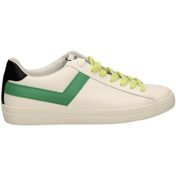 Chaussures Homme Baskets basses Pony TOP STAR OX a6-bianco-verde