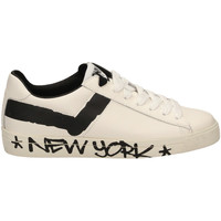 Chaussures Homme Baskets basses Pony TOP STAR OX f1-bianco-nero