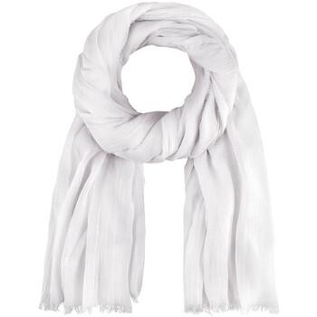 Accessoires textile Echarpes / Etoles / Foulards Allée Du Foulard Chèche Touch Blanc