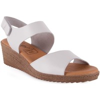 Chaussures Femme Sandales et Nu-pieds Chamby  Blanc