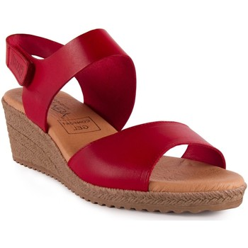 Chaussures Femme Sandales et Nu-pieds Chamby  Rouge