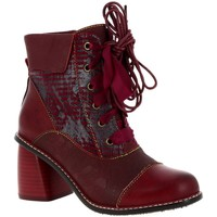 Chaussures Femme Bottines Laura Vita EVCAO 11 Rouge