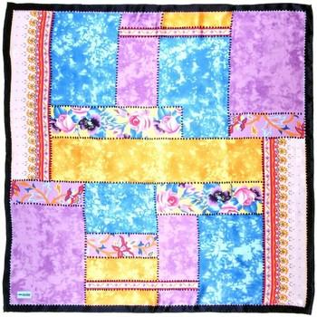 Accessoires textile Femme Echarpes / Etoles / Foulards Allée Du Foulard Carré de soie Premium Patchroz Mauve