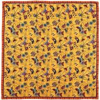 Accessoires textile Femme Echarpes / Etoles / Foulards Sacaly Carré de soie Farilla Orange