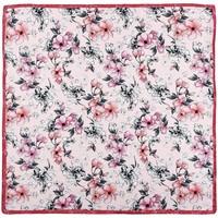 Accessoires textile Femme Echarpes / Etoles / Foulards Sacaly Carré de soie Fiori Rose