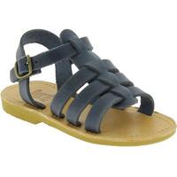 Chaussures Garçon Sandales et Nu-pieds Attica Sandals PERSEPHONE NUBUCK BLUE blu