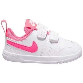 Chaussures Fille Baskets basses Nike Pico 5 Blanc, Rose