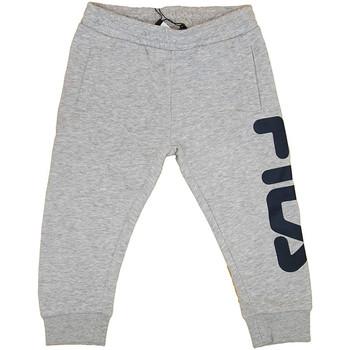 Vêtements Garçon Pantalons de survêtement Fila - Pantalone grigio 687197-B13 GRIGIO