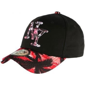 Accessoires textile Casquettes Hip Hop Honour Casquette NY Rouge et Noire Fashion Baseball Hawai Rouge