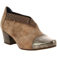 Chaussures Femme Low boots Dorking 7659 marron