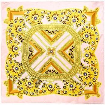 Accessoires textile Femme Echarpes / Etoles / Foulards Allée Du Foulard Carré de soie Premium Aleja Rose