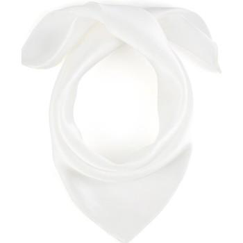 Accessoires textile Femme Echarpes / Etoles / Foulards Allée Du Foulard Carré de soie Piccolo uni Blanc