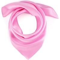 Accessoires textile Femme Echarpes / Etoles / Foulards Allée Du Foulard Carré de soie Piccolo uni Rose