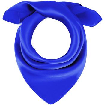 Accessoires textile Femme Echarpes / Etoles / Foulards Allée Du Foulard Carré de soie Piccolo uni Bleu-roi