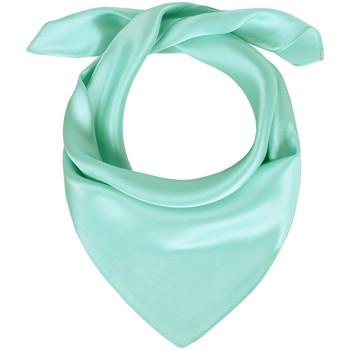 Accessoires textile Femme Echarpes / Etoles / Foulards Allée Du Foulard Carré de soie Piccolo uni Aqua