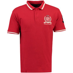 Vêtements Homme Polos manches courtes Geographical Norway Polo manches courtes Coton KWELL ss MEN rouge