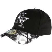 Accessoires textile Casquettes Hip Hop Honour Casquette NY Blanche et Noire Fashion Baseball Hawai Blanc