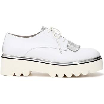 Chaussures Femme Derbies Café Noir KEA113 E18.203 BIANCO