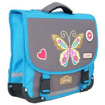 Sacs Enfant Cartables Pol Fox Cartable  ref_ca35 Butterfly Gris 35*13*29 gris