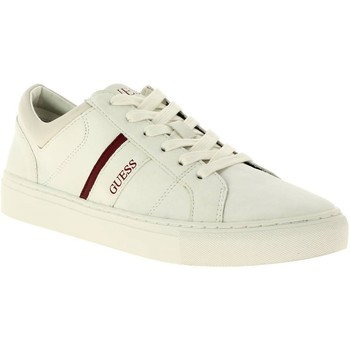 Chaussures Homme Baskets basses Guess fm8liaele12 blanc
