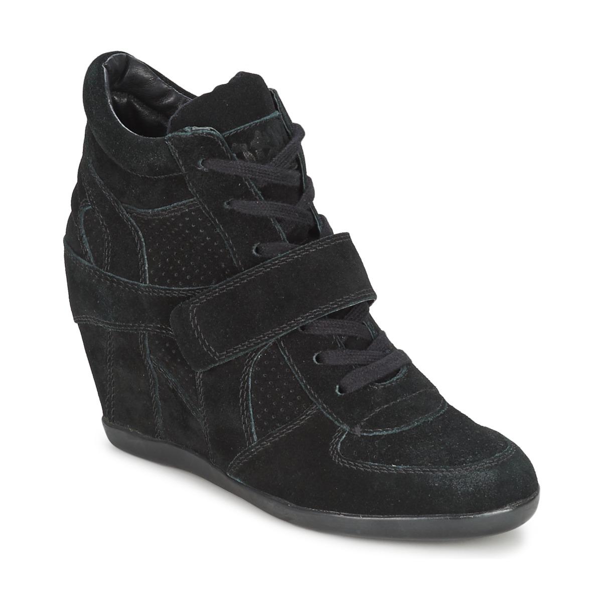4b034f4805e91f Chaussures Femme Baskets montantes Ash BOWIE noir