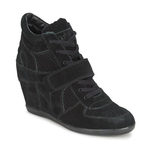 76ef3e19b063bd Ash BOWIE noir - Livraison Gratuite | Spartoo ! - Chaussures Basket ...
