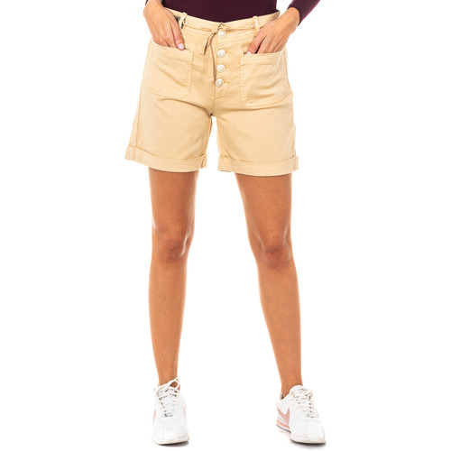 Vêtements Femme Shorts / Bermudas La Martina Court Beige