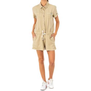Vêtements Femme Combinaisons / Salopettes La Martina Salopette courte Beige