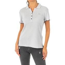 Vêtements Femme Polos manches courtes La Martina Polo manches courtes Gris