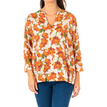 Vêtements Femme Tops / Blouses La Martina Blouse à manches 3/4 Multicolore